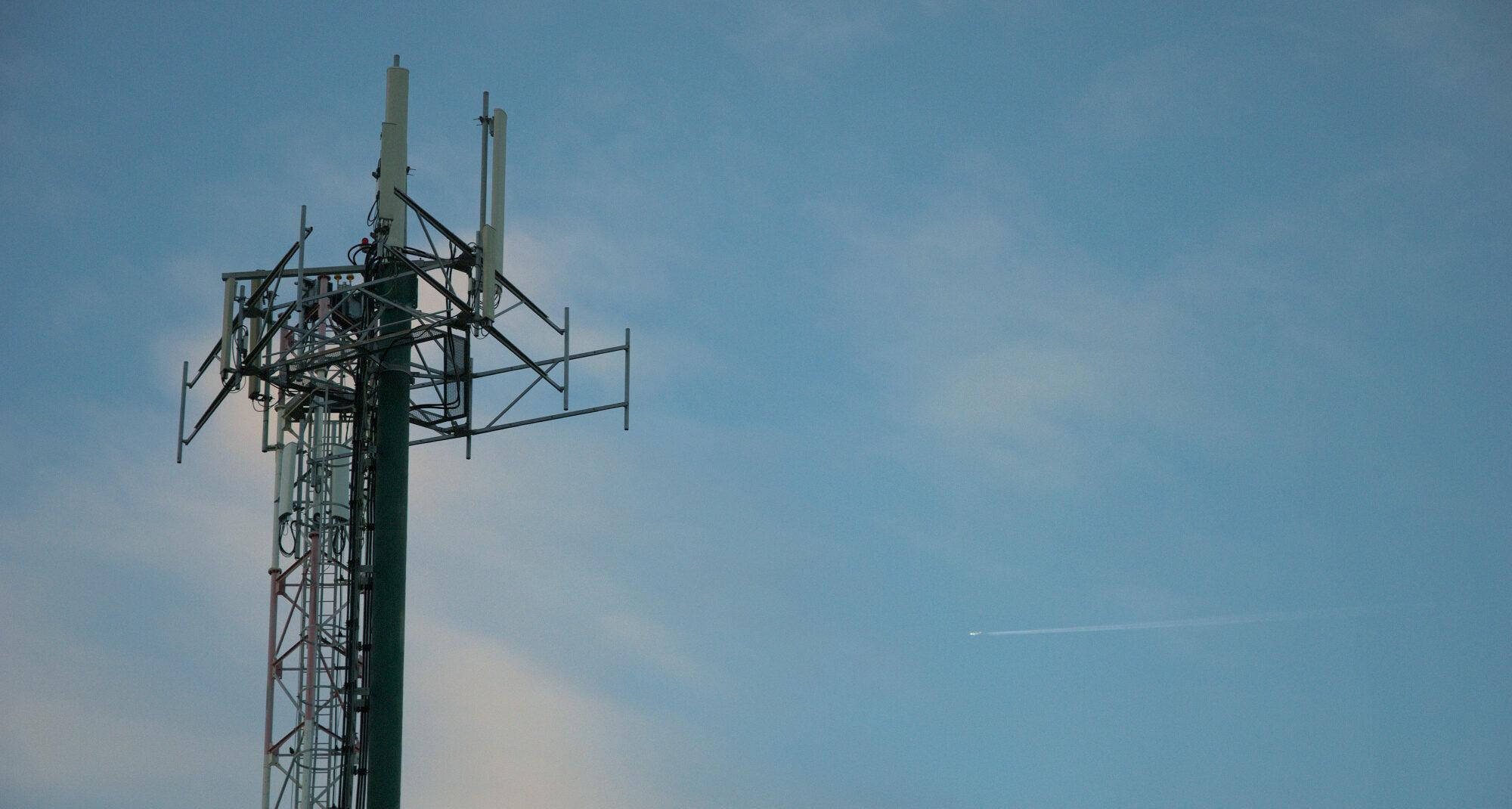antenna backdrop sky