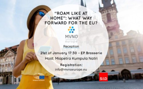 Save the date – MVNO Europe reception on the future of the roam-like-at-home regime